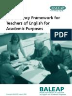 Teap Competency Framework