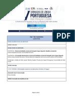 Programa - V Jornadas de Língua Portuguesa - Investigação e Ensino