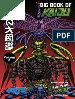 Big Book of Kaiju 02 - Insect Kaiju