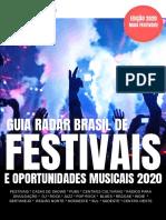 Guia Radar Brasil |Festivais 2020