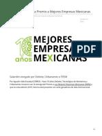 Ganan 7 de Sonora Premio a Mejores Empresas Mexicanas