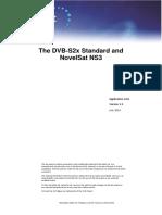App Note DVB S2x and NovelSat NS3