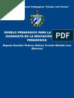 Modelo Pedagogico Para La Forma - Gonzalez Pedroso, Eugenia; Mira