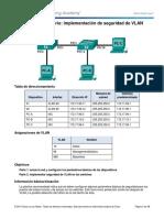 3.3.2.2 Lab - Implementing VLAN Security_Desarrollo