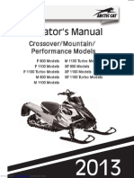 2013 F1100 Owners Manual