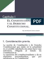 El constitucionalismo y el derecho constitucional