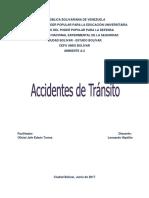 Accidentes de Transito