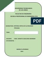 Caratula y Esquema de Monografia