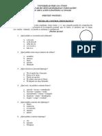 Instrumento Pret y Post Test