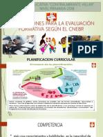 Caracteristicas de Evaluacion Formativa