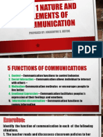 Unit 1 Nature and Elements of Communication [Autosaved]