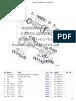 Pc400lc-7l S_n a86001-Up _ Final Drive-fusionado
