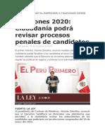 PLATAFORMA DIGITAL EMPEZARÁ A FUNCIONAR DESDE DICIEMBRE