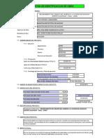 Ficha de Identificacion de Obra