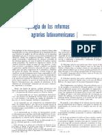Tipología de Las Reformas Agrícolas Latinoamericanas