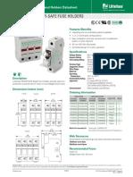 Littelfuse Fuse Holder LPSC LPSM Datasheet