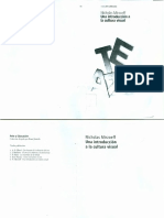 Mirzoeff. Una introducción a la cultura visual.