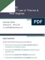 GI 5 2nd Law of Thermodynamics