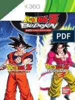 Dragon Ball Budokai HD Manual