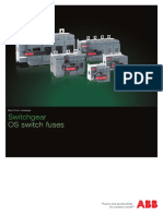 OS Switch Fuses ABB