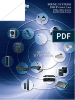 Panasonic Paging System