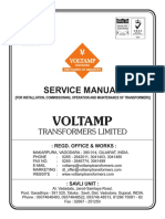 o&m Manual_oil Filed Transformers-31!5!2014