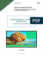 Aprendizaje y Memoria - Clase Introductoria 1