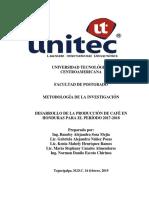 Informe. Desarrollo de La Producción de Café en Honduras
