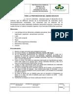 Evidencas de Los Protocolos de BIOINSUMOS