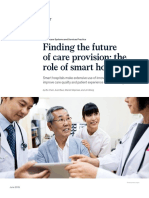 Finding the future of care provision the role of smart hospital