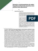 12 Maestros Subjetividades Posicionamiento Estructuras Procesuales Del Curso Biográfico CALI