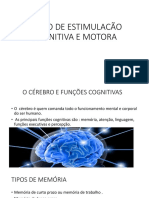 Curso de Estimulacão Cognitiva e Motora