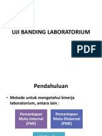 Uji Banding Laboratorium