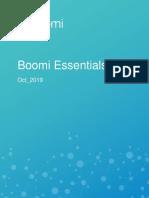 Dell Boomi Essentials Activities Oct 2019