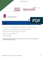 Innovación Educativa 81 - IPN