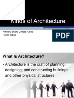 Kinds of Architecture1.ppt