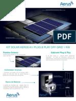Kit Solar Aerus a1