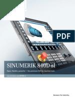 Brochure Sinumerik 840d Sl