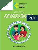 buku saku pedoman Program Indonesia Sehat pendekatan Keluarga