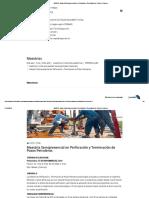 INEGAS - Maestría Semipresencial en Perforación y Terminación de Pozos Petroleros Bolivia