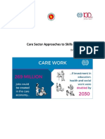 Skill 21_ITCILO_Care Sector Approach_Workshop report _edited on 190319.docx