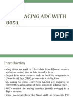 Interfacing ADC With 8051
