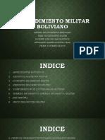 procedimiento militar boliviano