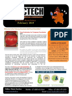 Exactech Newsletter FEB 2019