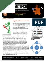 Exactech Newsletter May 2019