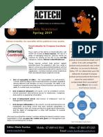 Exactech Newsletter Spring 2019