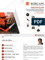 BOBCAPS ELIXIR_Pharma & Healthcare_Industry Newsletter_October 2018