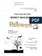 Halowen Proiect Educational