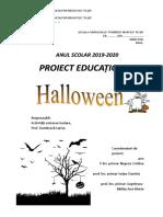 Halowen Proiect Educational