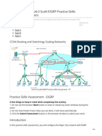 CCNA 4 v6 ScaN EIGRP Practice Skills Assessment Answers